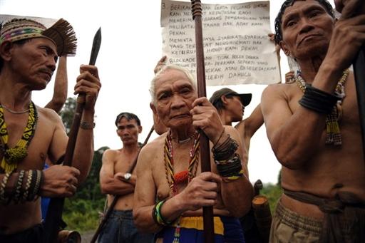 penan blockade in sarawak logging