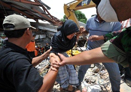 indonesia padang earthquake sumatra