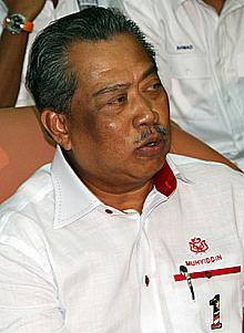 bagan pinang by election nomination 031009 muhyiddin yasin