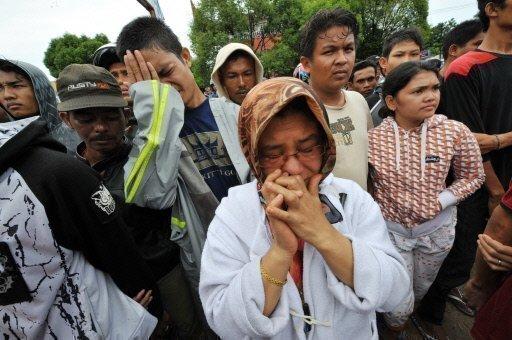 indonesian earthquake in padang sumatra