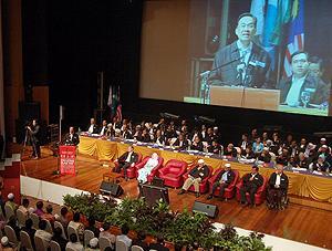 pakatan convention 191209 stage