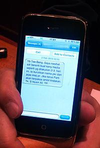 tan tee beng pc 030110 show syed sms 02