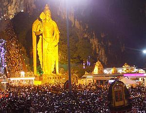 thaipusam mb khalid visit 290110 01