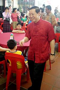 penang government cny open house 140210 lim guan eng