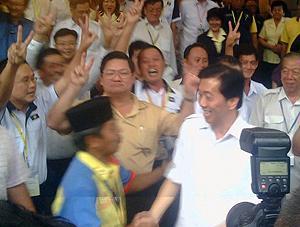 mca re-election nomination 220310 ong ka ting leaving