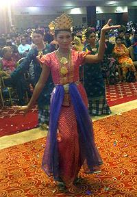 perkasa first agm 270310 malay dance