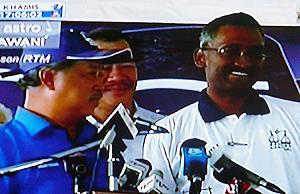 hulu selangor by-election muhyiddin announce bn candidate  kamalanathan  150410 01