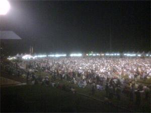 Ceramah Perdana at Stadium Mini Kuala Kubu Baru by Anwar 240410