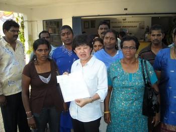 hulu selangor by election tan lian hoe lodge police report 240410