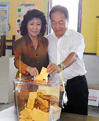 sibu by election voting 160510 02