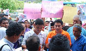 felda protest suara keadilan 300610