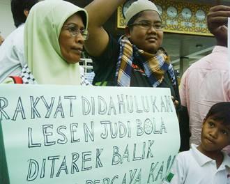 GMJ gerakan mansuhkan judi masjid negara rally 3 sports betting rally
