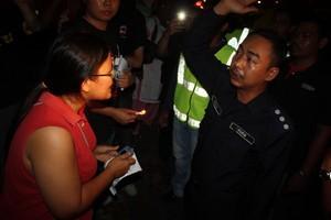 penang isa vigil 010810 order to disperse infront of police station
