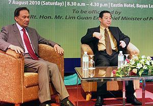national integrity conference anwar lim guan eng 070810 02