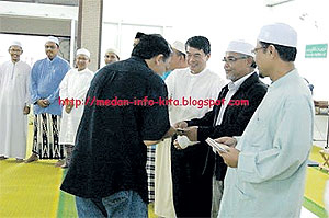 william leong in masjid 290810