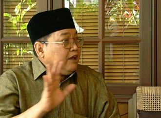 ibrahim ali press conference at his home in taman melawati