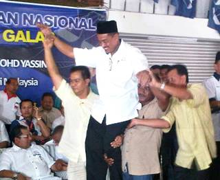Aziz Yusof BN Galas candidate