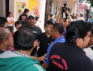 penang attack on anti isa forum 211110 umno youth violence