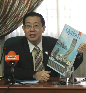 lim guan eng commenting on rci and pppa