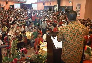 tenang by election 280111 pakatan ceramah crowd