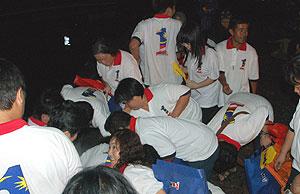 najib rally kuching 100411