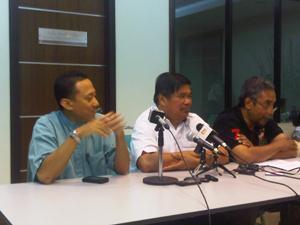 mohamad sabu pc announcing new bersih rally