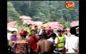 24 buried alive in landslide at orphanage