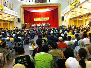 bersih launching crowd 2