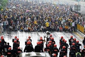 bersih rally july 9 crowd face-off with police 1