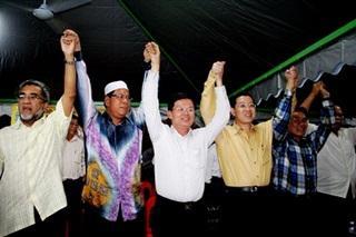 penang bersih 3.0 rally lim guan eng and other speakers