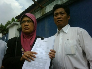 sarbani wife lodge police report 230711 maziah manap and mokhtar mansur