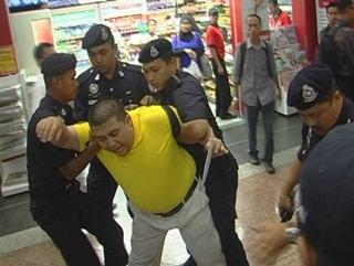 zaki yamani zainon arrested in kl sentral bersih memo to najib 1