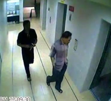 Datuk T CCTV footage