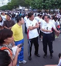 najib and lim guan eng penang cycle event 250911 guan eng koh tsu  koon