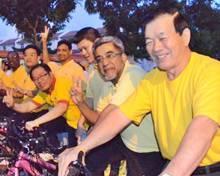 najib lim guan eng cycle event 250911 4