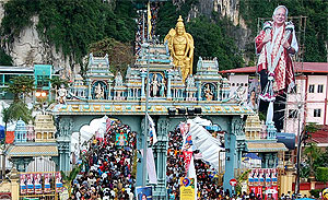 najib thaipusam 2011