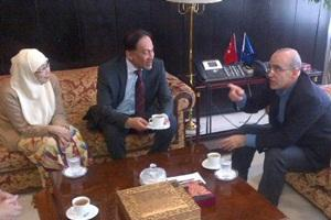 anwar wan azizah and turkey finance minister Mehmet Simsek