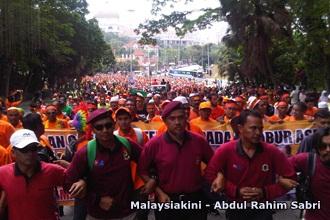 himpunan oren march