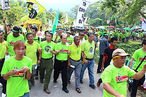 himpunan hijau raub 020912
