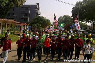 pengerang himpunan hijau 300912 start marching 05