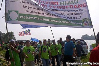 pengerang himpunan hijau 300912 start marching 04