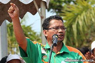 pengerang himpunan hijau 300912 anak president mazlan aliman
