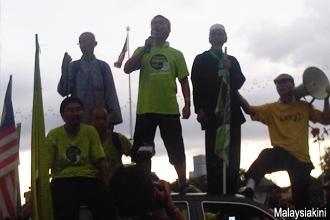 green march reaching dataran 251112 wong tack speech 03