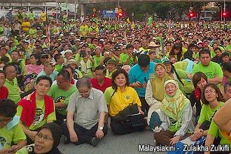 green march reaching dataran 251112 crowd 02