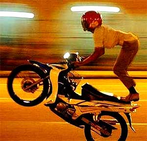 mat rempit illegal motorcycle rider riding 210806