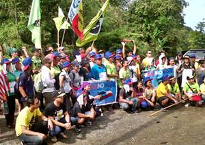 Sabah march day 2