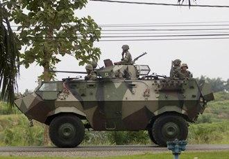 armoured personel carrier apc lahad datu sabah