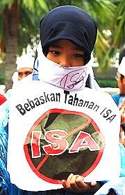 abolish isa ramadhan protest 131006 muffled