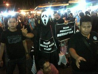 post-ge13 rally in kelana jaya stadium crowd 2