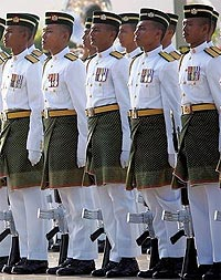military malaysia army tentera 131106 dress uniform
